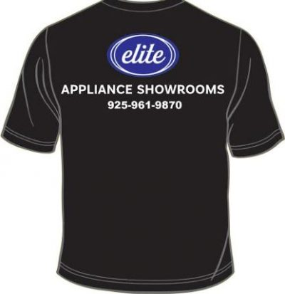 Elite Appliance Showrooms - Logo Print for T-Shirts