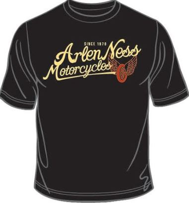 Arlen Ness Motorcycles Print Design for T-Shirts